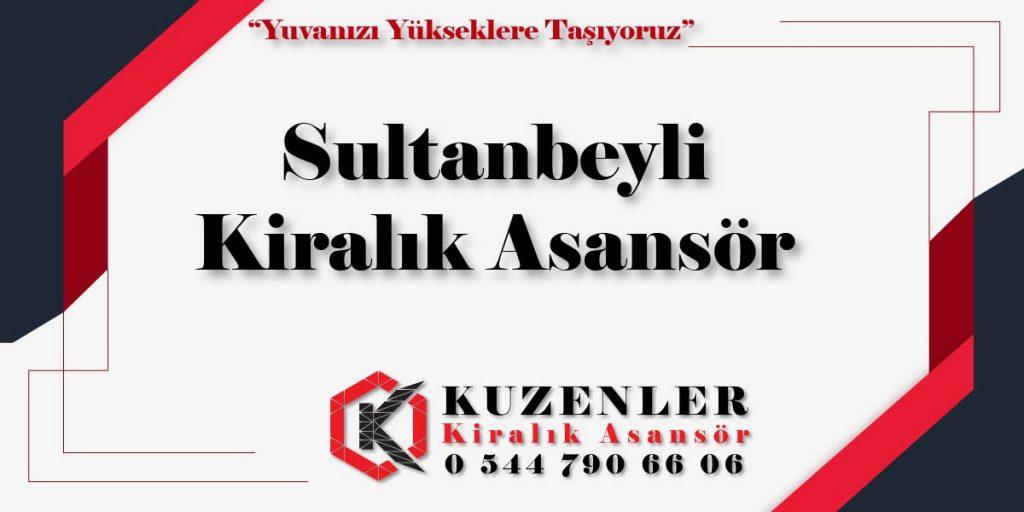 Sultanbeyli Kiralık Asansör